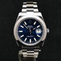 Rolex Datejust II Acier 41mm Bleu France, Strasbourg