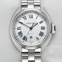 Cartier Clé de Cartier Сталь 31mm Cеребро Римские