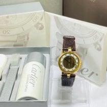 Cartier Plastic Quartz White Roman numerals 30mm pre-owned Trinity
