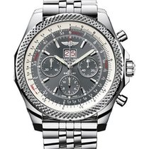 Breitling Bentley 6.75 new Automatic Chronograph Watch with original box A4436412/F544-990A