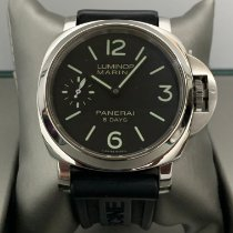 Panerai Luminor Marina 8 Days Steel 44mm Black Arabic numerals Malaysia