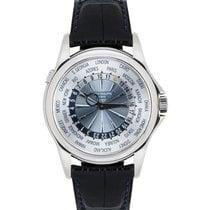Patek Philippe World Time Platinum 39.5mm Silver United Kingdom, London