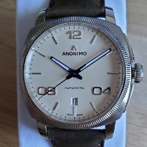 Anonimo Steel 42mm Automatic AM400001310W42 new