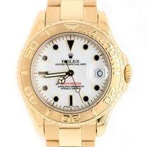 Rolex Желтое золото Автоподзавод подержанные Yacht-Master