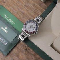 Rolex GMT-Master II Or blanc 40mm Argent Sans chiffres France, Paris