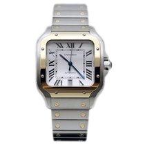 Cartier Santos (submodel) W2SA0009 Unworn Gold/Steel 39.8mm Automatic