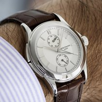 Patek Philippe Travel Time Платина 37mm Cеребро