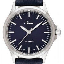 Sinn 556 Steel 38.5mm Blue