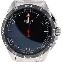 Tissot Touch новые 2021 Кварцевые Хронограф Часы с оригинальными документами и коробкой T121.420.44.051.00
