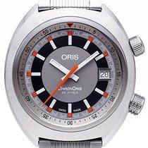 Oris 01 733 7737 4053-07 8 19 01 Steel 2021 Chronoris 39mm new