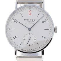 NOMOS Tangente Neomatik gebraucht 38.5mm Weiß Stahl