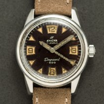 Enicar Steel Manual winding 120/013 pre-owned United States of America, New York, New York