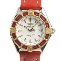 Breitling Lady J Gold/Steel 31mm White