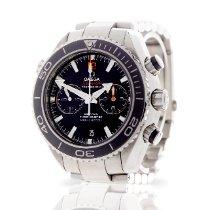 Omega Seamaster Planet Ocean Chronograph Steel Black United Kingdom, London