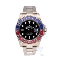 Rolex GMT-Master II 116719BLRO Very good White gold Automatic