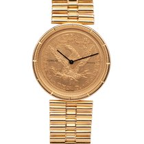 Corum Coin Watch Oro amarillo 33mm Oro Sin cifras