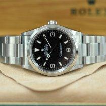 Rolex Explorer Steel 36mm Black Arabic numerals United Kingdom, London