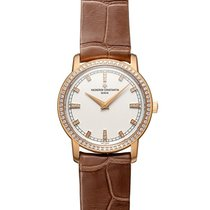 Vacheron Constantin (ヴァシュロン・コンスタンタン) 女性用腕時計 パトリモニー 30mm クォーツ 中古 正規のボックスと正規の書類付属の時計