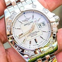 Breitling Galactic 41 Steel 41mm Silver United States of America, Texas, Plano
