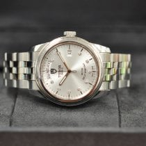 Tudor Steel Automatic Silver pre-owned Glamour Date-Day