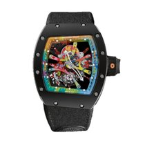 Richard Mille RM68-01 Very good Carbon 42mm Manual winding