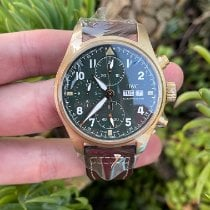 IWC Pilot Spitfire Chronograph new Automatic Chronograph Watch with original box and original papers IW387902