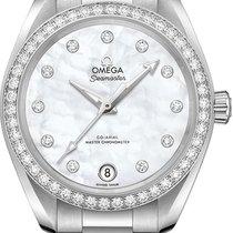 Omega Seamaster Aqua Terra Steel 34mm White