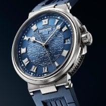 Breguet (ブレゲ) マリーン 新品 2021 自動巻き 正規のボックスと正規の書類付属の時計 5517BB/Y2/5ZU