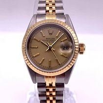 Rolex Lady-Datejust Gold/Steel 26mm Champagne No numerals United States of America, New York, New York