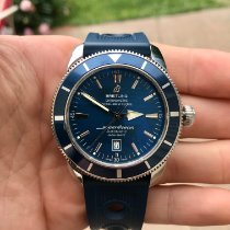 Breitling Superocean Heritage 46 Steel 46mm Blue United States of America, New York, Rochester