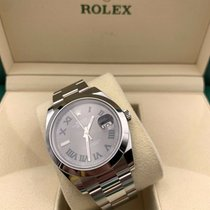 Rolex Datejust II pre-owned 41mm Grey Date Steel