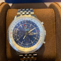 Breitling Navitimer GMT Steel 46mm Blue No numerals United States of America, New Jersey, passaic
