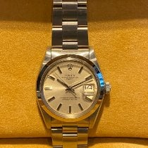 Rolex Oyster Perpetual Date Steel 34mm Silver No numerals United States of America, Florida, Hallandale Beach