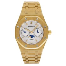 Audemars Piguet Royal Oak Day-Date Yellow gold White No numerals United States of America, New York, New York