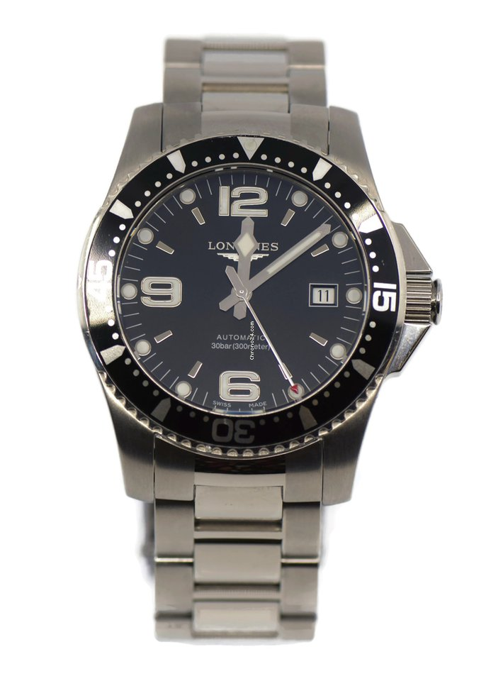 Longines HydroConquest L3.642.4.56.6 pre-owned