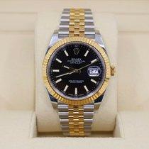 Rolex Datejust Gold/Steel 41mm Black No numerals United States of America, New York, NEW YORK