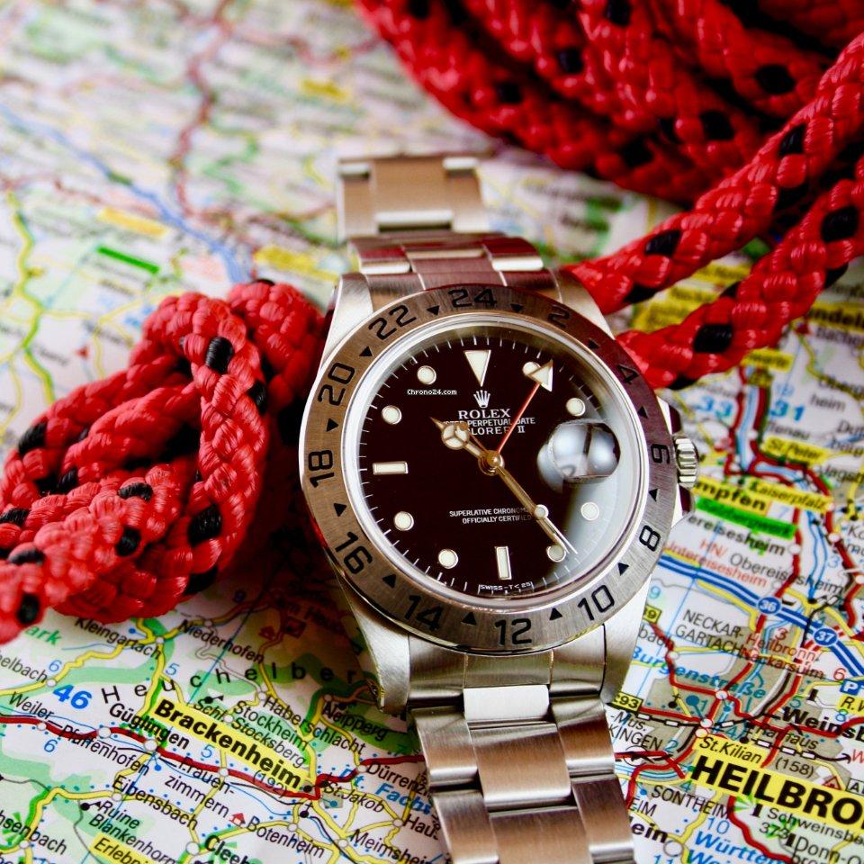 Rolex Explorer II 16570 1998 gebraucht