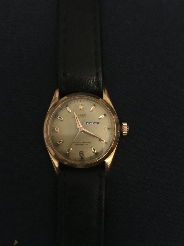 Rolex Bubble Back 6084 1956 pre-owned