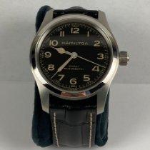 Hamilton Khaki Field Steel 42mm Black Arabic numerals United States of America, Indiana, Fishers