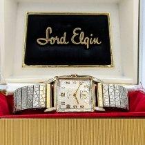 Elgin Acero y oro 26mm Cuerda manual Lord Elgin Grade 556 usados