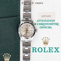 Rolex Oyster Perpetual Lady Date Steel 26mm Silver Roman numerals