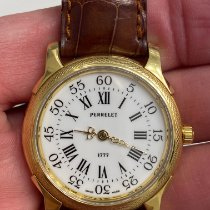 Perrelet Yellow gold Automatic White Roman numerals 36mm pre-owned