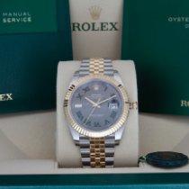 Rolex Datejust II Oro/Acciaio 41mm Grigio Senza numeri Italia, Este