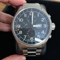 Oris Big Crown ProPilot Chronograph GMT Steel Black