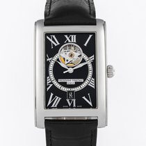 Frederique Constant Classics Heart Beat pre-owned 30mm Black Leather
