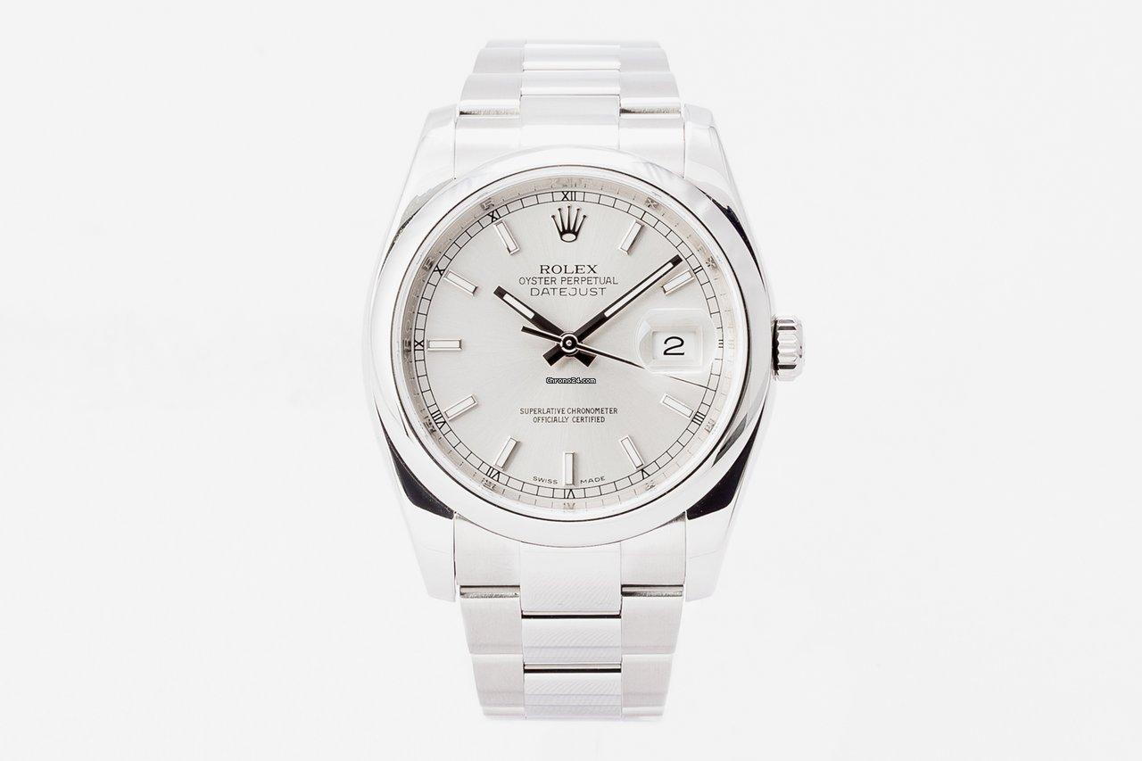 Rolex Datejust 116200 2015 подержанные