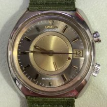 Omega Memomatic Gold/Steel 40mm Gold No numerals Singapore