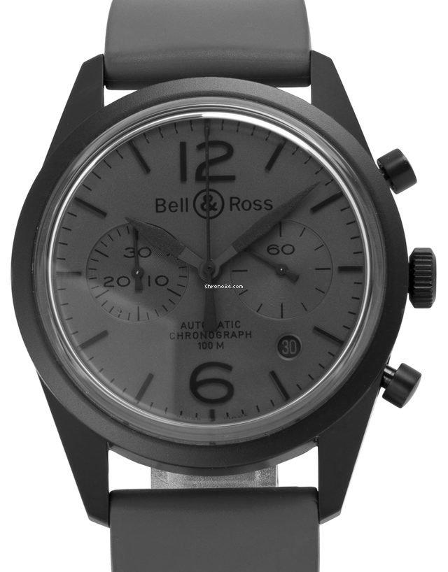 Bell & Ross Vintage BR126-94-SC 2017 подержанные