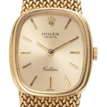 Rolex Cellini 3998 Good Yellow gold 23mm Manual winding