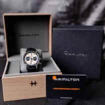 Hamilton Intra-Matic Сталь 40mm Белый Без цифр